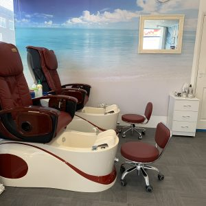 nail paradise south port spa pedicure with massage chairs
